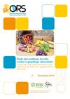 Rapport étude gaspillage alimentaire